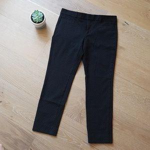 Banana Republic Pants - Banana Republic Sloan fit pants black polka dot 4